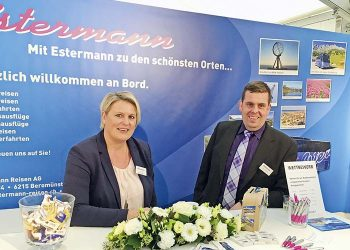 Messestand Estermann Reisen